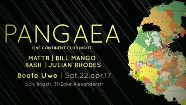 Pangaea – One Continent <br>Club Night 3.0