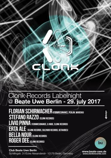 Clonk Records Labelnight